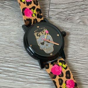 Betsy Johnson Skull Watch